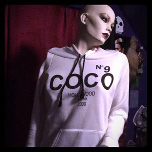 Coco No9 Hollywood rich girl model hoodie